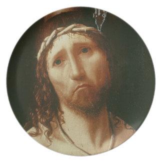 Homo de Ecce (aceite en el panel) Platos