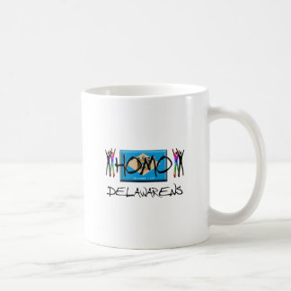 Homo Delaware Coffee Mug