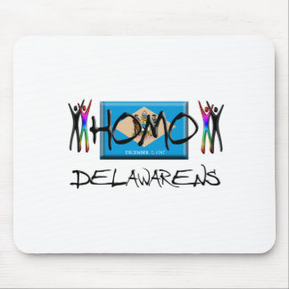 Homo Delaware Mouse Pad