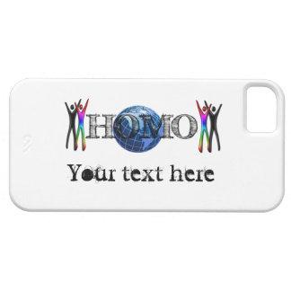 Homo Earth Earthius i Phone 5 Template Funny 3D iPhone SE/5/5s Case