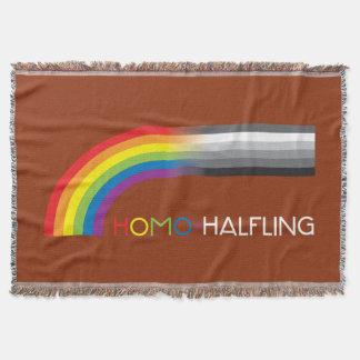 Homo-Halfling Throw Blanket
