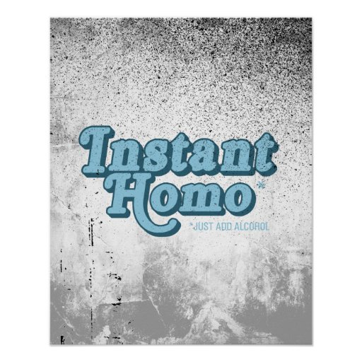 Homo inmediato póster