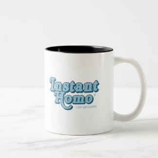 Homo inmediato taza de café