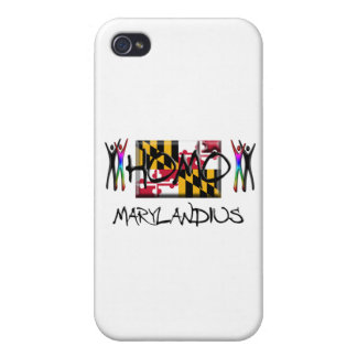 Homo Maryland Case For iPhone 4