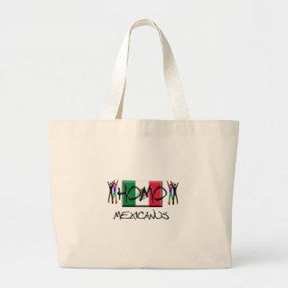 Homo México Bolsa De Tela Grande