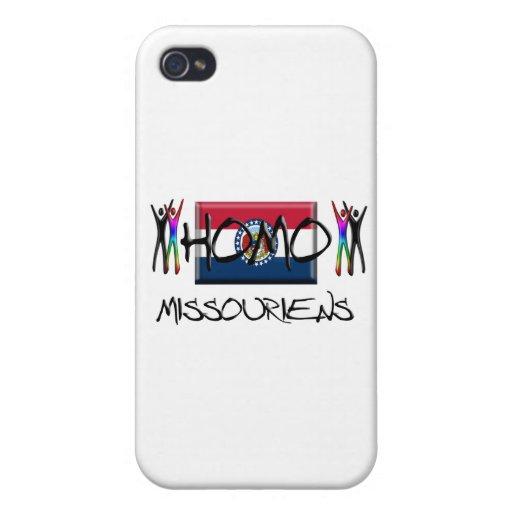 Homo Missouri iPhone 4/4S Carcasas