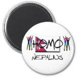 Homo Nepal Magnet