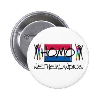 Homo Netherland Pinback Buttons