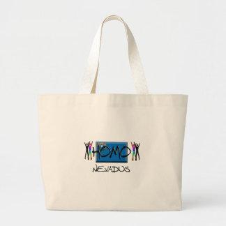 Homo Nevada Bolsa De Tela Grande