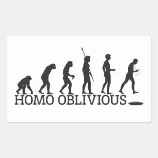 Homo Oblivious Sticker