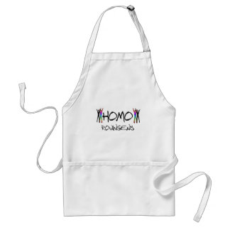 Homo rowing adult apron
