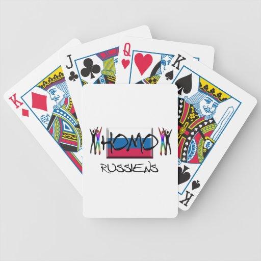 Homo Russia Card Decks