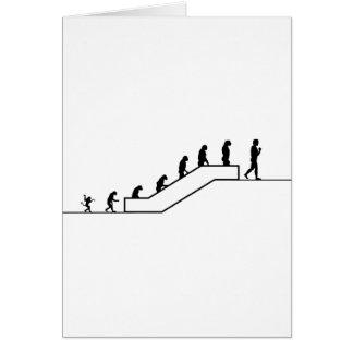Homo sapiens, 2do piso tarjeta de felicitación