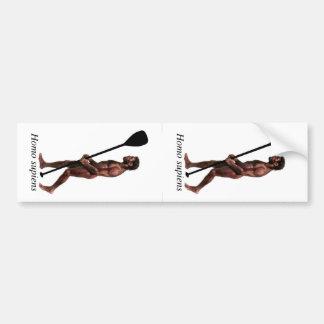 Homo supiens (2 Up) Bumper Sticker