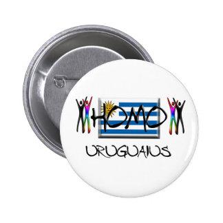 Homo Uruguay Buttons
