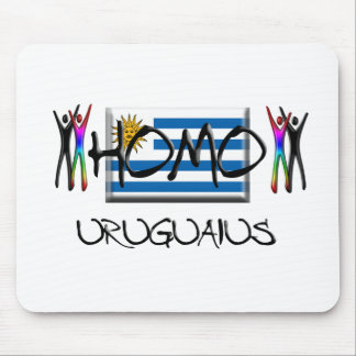 Homo Uruguay Alfombrilla De Ratón