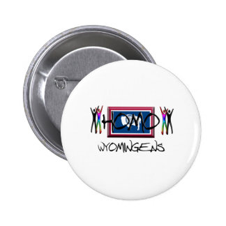 Homo Wyoming Button