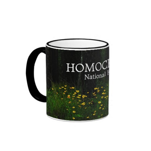Homochitto National Forest flowers and trees Ringer Coffee Mug