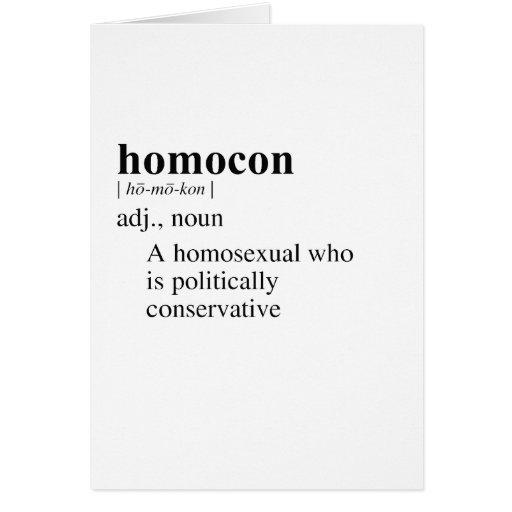 HOMOCON GREETING CARD