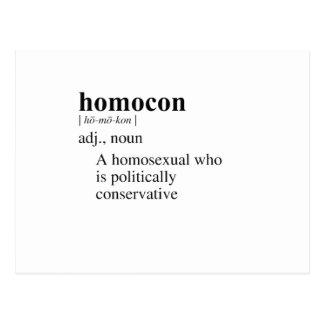 HOMOCON POSTCARD