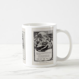 homoerotic classic white coffee mug