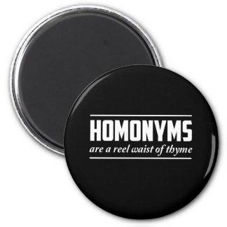 Homonyms Magnet