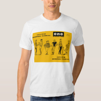 Homophile Marriage/ONE Magazine, June 1963 T-Shirt