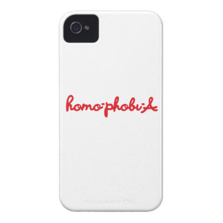 HOMOPHOBIA iPhone 4 COVER