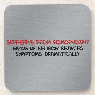 Homophobia Cure Drink Coaster
