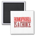 HOMOPHOBIA IS A CHOICE MAGNETS