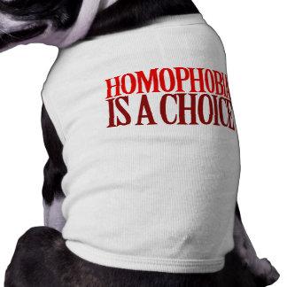 HOMOPHOBIA IS A CHOICE TEE