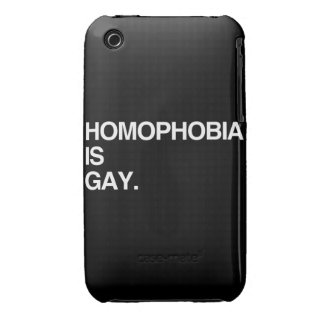 HOMOPHOBIA IS GAY Case-Mate iPhone 3 CASE