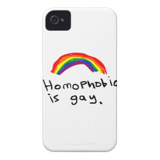 Homophobia is Gay iPhone 4 Case