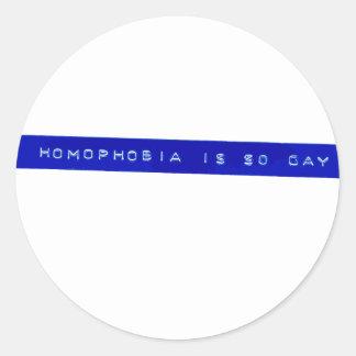 Homophobia Is So Gay Sticker