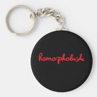 HOMOPHOBIA KEYCHAIN