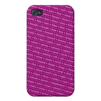 homophone iPhone 4/4S carcasa