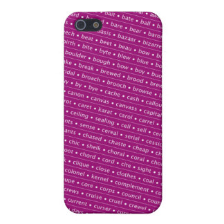 homophone iPhone SE/5/5s cover