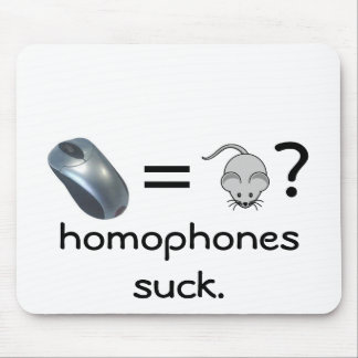 homophones del tornillo mouse pads