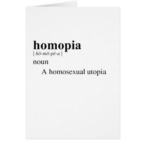 HOMOPIA TARJETON