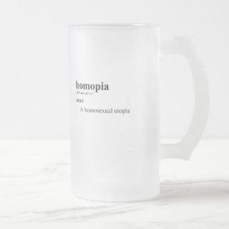 HOMOPIA TAZA CRISTAL MATE