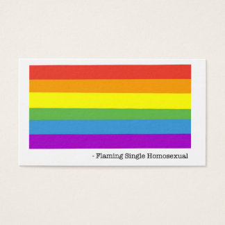 Homosexual Business Cards