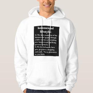 Homosexual Lifestyle Hoodie