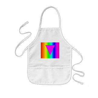 Homosexual Rainbow Kids' Apron