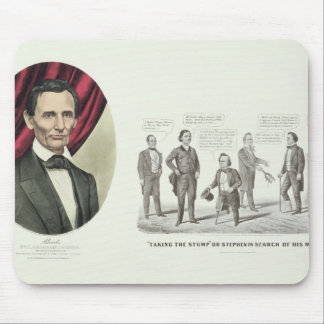 Hon. Abraham Lincoln Mouse Pad