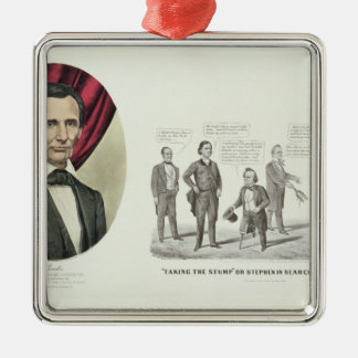 Hon Abraham Lincoln Christmas Tree Ornaments
