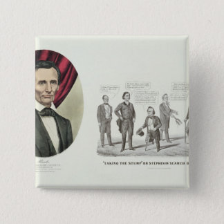 Hon. Abraham Lincoln Pinback Button
