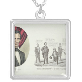Hon. Abraham Lincoln Silver Plated Necklace