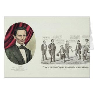 Hon. Abraham Lincoln Tarjeta De Felicitación