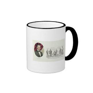 Hon. Abraham Lincoln Taza De Dos Colores