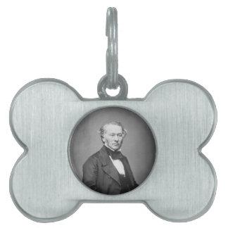 Hon. Richard Cobden M.P. Portrait c. 1865 Pet ID Tags